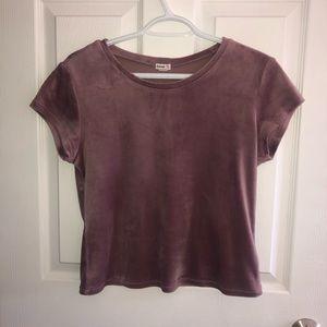 Suede Purple t-shirt